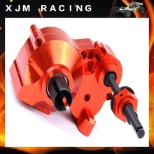 Rc Car CNC Heavy Duty metal complete diff gear box HPI Rovan KM BAJA 5b 5t 5sc