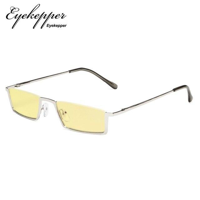 792fcb182dd1 TMCG1613 Eyekepper Blue Light Blocking Glasses Half-Rim Computer Readers  Eyeglasses-Yellow Tinted Lens Reading Glasses