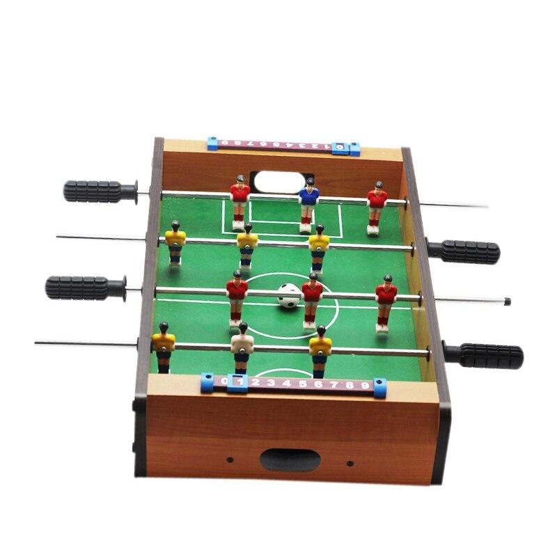 Hot Sale Mini Table Soccer Football font b Board b font Game Home Table Foosball Set