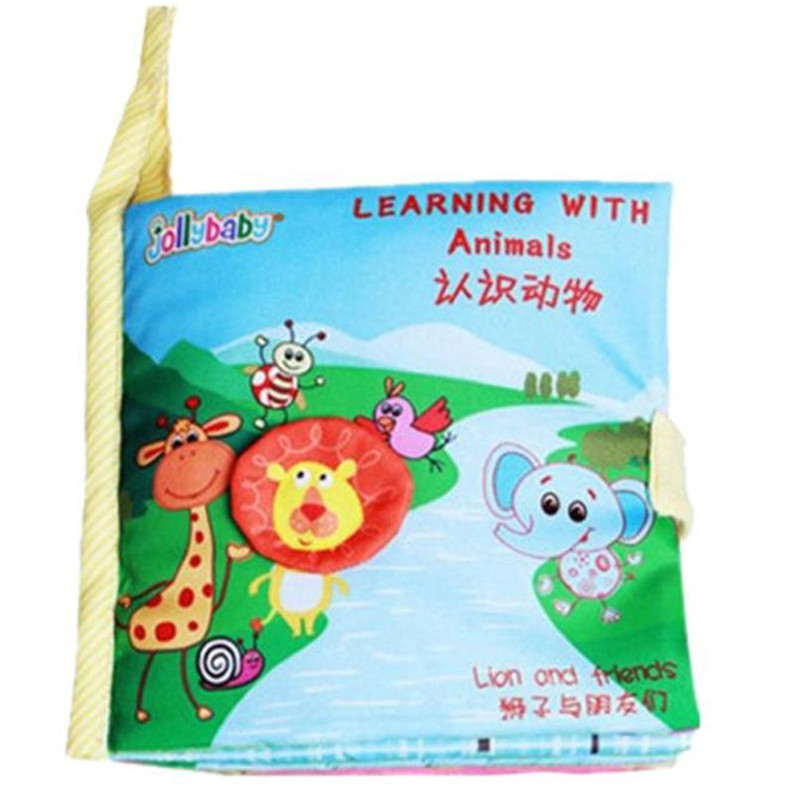 wholesale drop shipping Natural Cloth book Baby Toy Cloth Development Books Learning & Education Education books S23JUN5
