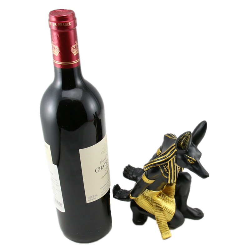 Anubis God Wine Rack (7)