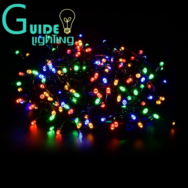 super long led string lights color change 100meters eu standard wire christmas lamp 500leds rope lamp