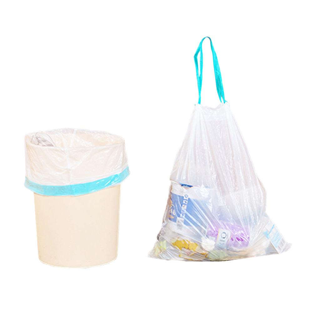 Innovative Plastic Bag Kitchen Thickened Break Style Pe Automatic Closing Garbage Bag Drawstring Garbage Bunching Garbage Bag