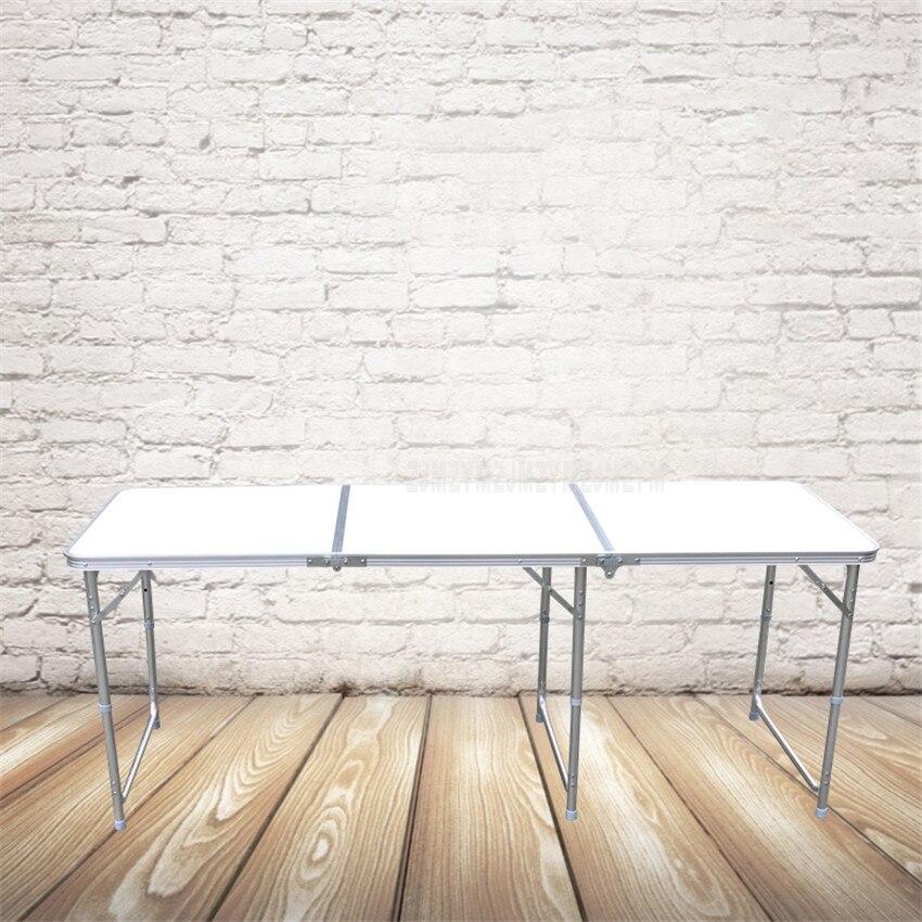 180*60CM Portable Outdoor Folding Table Camping Aluminium Alloy Picnic Table Waterproof Ultra-light Durable Foldable Table Desk180*60CM Portable Outdoor Folding Table Camping Aluminium Alloy Picnic Table Waterproof Ultra-light Durable Foldable Table Desk