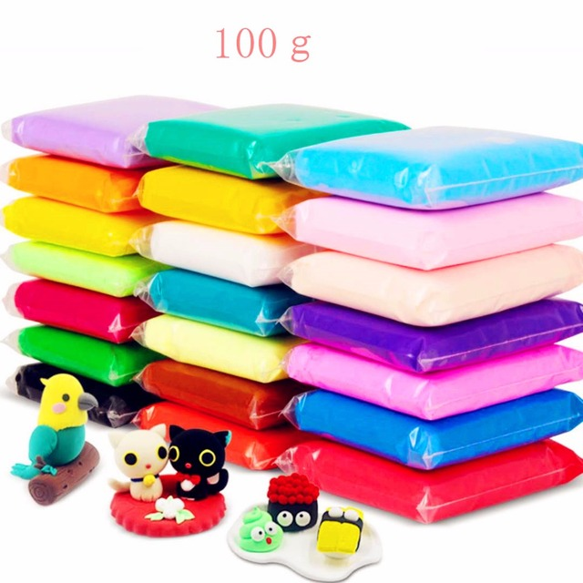 100g 3D Fluffy Foam Clay Slime DIY Soft Cotton Slime Ball Kit No Borax Education Craft Toy Antistress Kids Toy for Children Gift