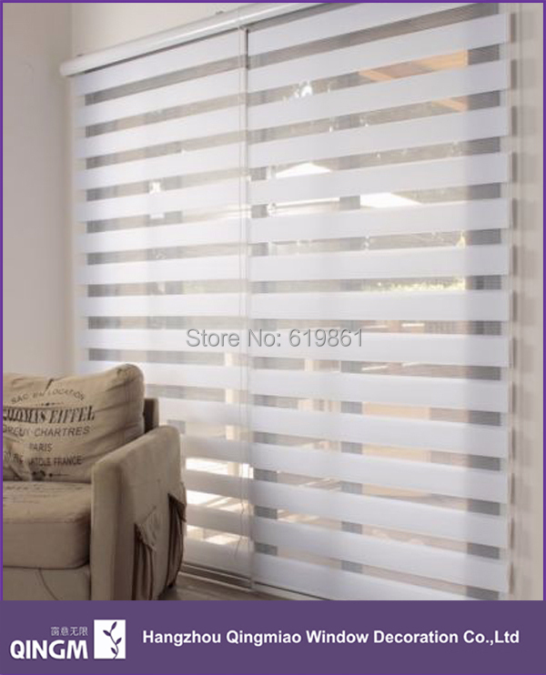 Home decoration day and night combine zebra blinds fashionable ...