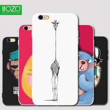 3D Cute Cartoon Soft TPU Relief Case for iPhone 7 7Plus 8 8Plus
