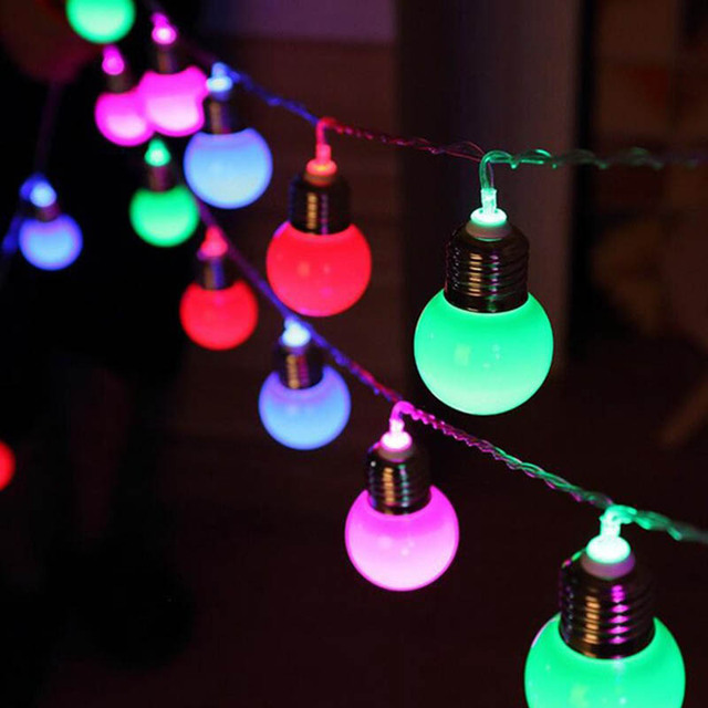 Aliexpress.com : Buy 5M 20 LED G45 Globe Party Ball string lamps ...