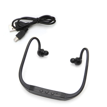 New Sports Running Ear Hook Headphone MP3 Player FM Headset