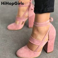 HiHopGirls Factory Price Sexy Gladiator High Heels 8CM Women Pumps Wedding Dress Shoes Woman Valentine Stiletto