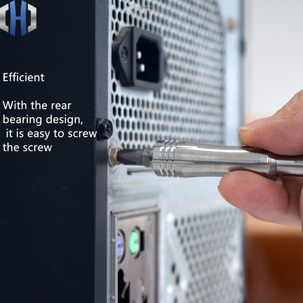 TITANER Titanium Alloy Multi-function Gyro Screwdriver Decompression EDC Tool