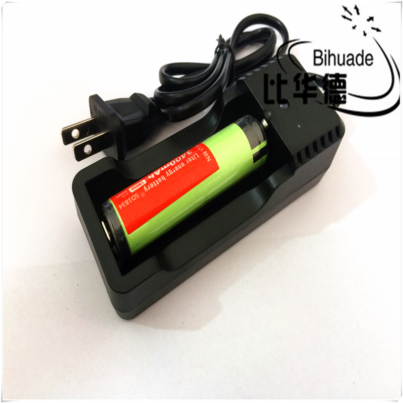 BIHUADE 18650 Battery Charger Fast Charging for18650 14500 Li-Ion Batteries