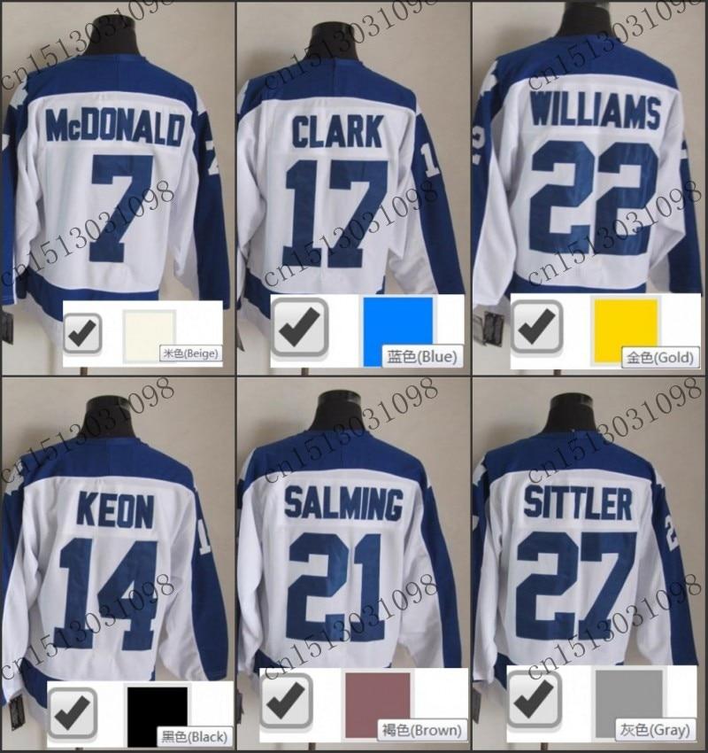 pretty nice e1536 83c55 17 wendel clark jersey