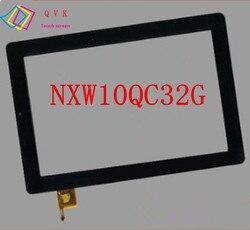 """+ Rama 10.1 """"Cal dla NEXTBOOK NXW10QC32G panel ekranu dotykowego do tableta Digitizer wymiana czujnika szklanego w Ekrany LCD i panele do tabletów od Komputer i biuro na"""