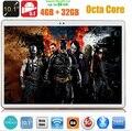 Envío libre 10 pulgadas tablet pc Octa core 3G 4G LTE 1280*800 5.0MP 4 GB 32 GB Android 5.1 Bluetooth GPS 7 9 10.1 tabletas