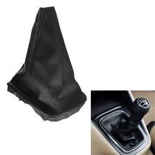 Пылезащитные shifter golf рычаг vw переключения передач крышки кожаный ручка авто