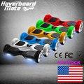Hoverboard bluetooth smart 2 monopatín eléctrico hover volante wheel auto equilibrio scooter de pie bordo