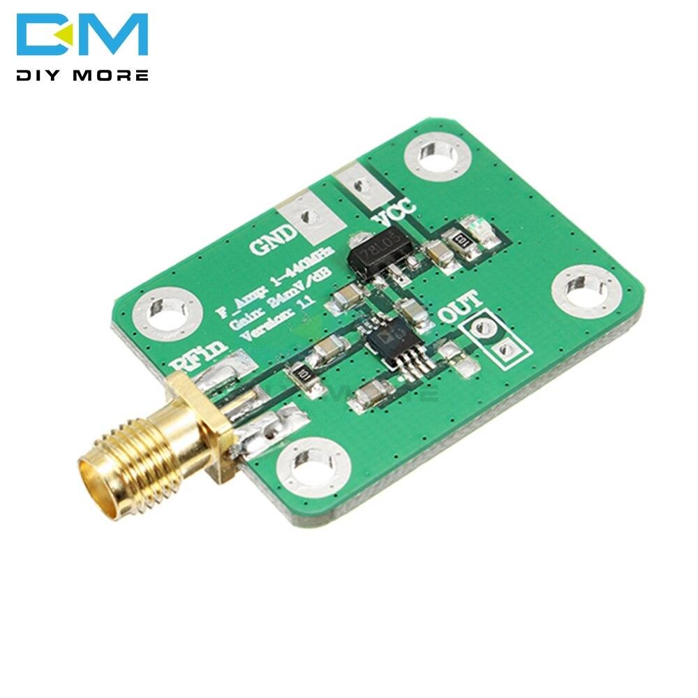 Saída de Alta Placa de Medidor de Energia Rssi Alta Velocidade rf Frequência Log Detector Módulo Demodulador 7-15v 12ma 0.1-440 Mhz Ad8310