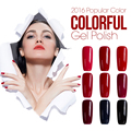 Azure Red Color Gelpolish Soak-off UV/LED Gel Polish Long-lasting Nail Art Manicure Shining Gel Nail Polish 60 Colors