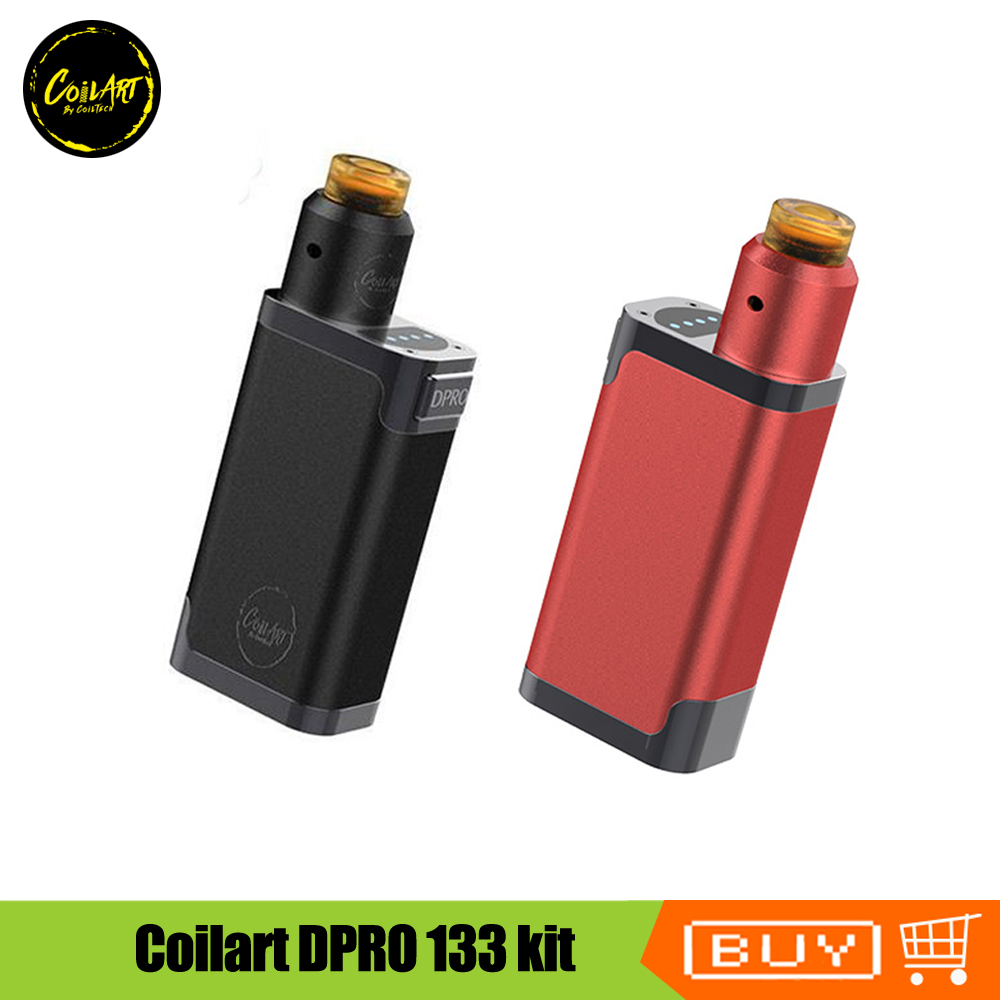 Vaporizer China Suppliers Original Coilart Dpro 133 Kit With Dpro Rda Tank Atomizer Vaporizer 18650 Battery Electronic Cigarette Vape Starter Kit In Electronic Cigarette Kits