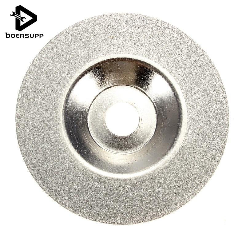 100ミリメートル4インチダイヤモンドコーティング研削研磨研削ディスク鋸刃ロータリーホイールシルバートーン卸売価格