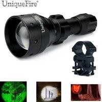 UniqueFire UF 1503 Adjustable Led Flashlight Cree XP E Led 50mm Aspheric Lens Zoomable 3 Modes