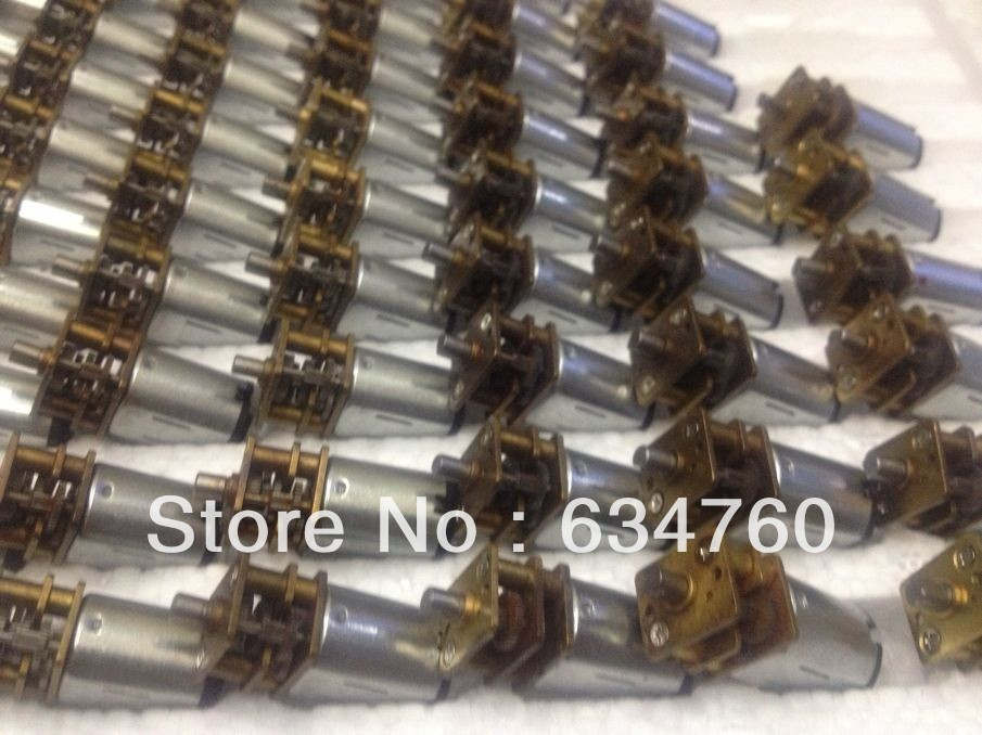 Physical store sales spot supply mini DC 4.5V 12GAN20 gear motor