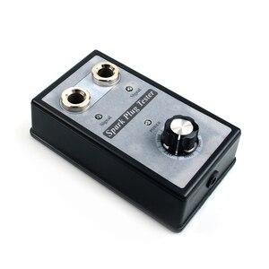 Image 2 - רכב מצת בודק עם מתכווננת כפול חור גלאי הצתה Plug Analyzer