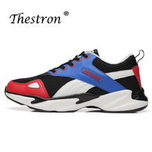 Man Running Shoes Spring Autumn Mens Black Athletic Shoes Comfortable Jogging Male Sneakers Lightweight Sport Shoes Men
