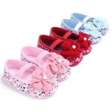 Meninas doces Do Bebê Sapatos Princesa Linda Flor Grande Com Solado Macio Crianças Recém-nascidas Crib Shose Bebe Primeiros Walkers Infantil Criança Calçado
