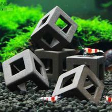 ФОТО 5pcs fish tank ornament  ceramic crafts landscaping ceramic house shelter for small shrimp and fishes aquarium decorations