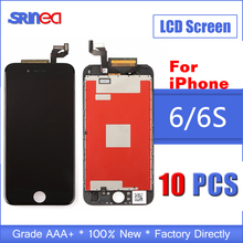 цены на 10PCS AAA Quality Tested LCD Screen For iPhone 6 s LCD Display Touch Digitizer Assembly Apple i Phone 6 6s Replacement  в интернет-магазинах