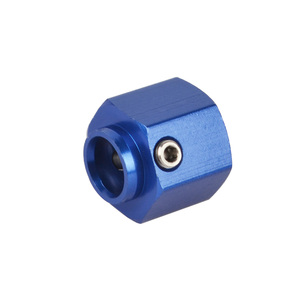 Image 5 - 1:10 RC paletli 8/10/12/15MM Metal 12MM tekerlek Hex genişletilmiş adaptör için TRX 4 TRX4