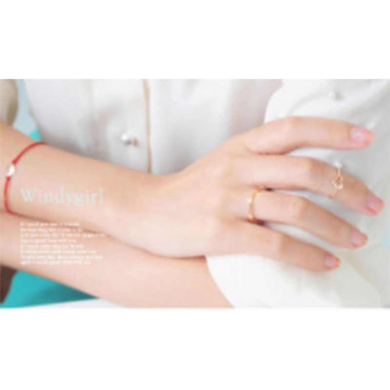 Simple Fine เครื่องประดับ Midi Finger Knuckle แหวนตกแต่งขัดแหวนทองเหลืองข้อต่องานแต่งงานและหมั้นเครื่องประดับ WD152