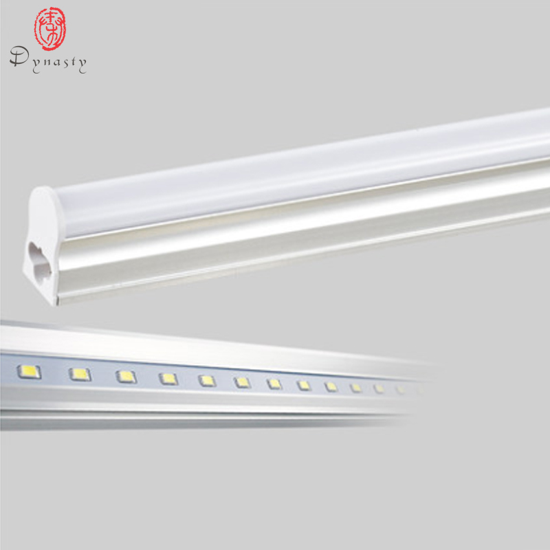 5 Pcs/Lot LED T5 Tube Super luminosité remplacer de Ballast traditionnel Fluorescent placard cuisine 30 CM 1 pieds LED luminaire dynastie