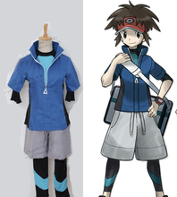 Pocket Monster Black2 and white2 Pokemon Kyohei Cosplay Costume Customized Acceptable order