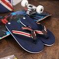 Прочный Мужские Летом Ходить Шлепанцы Скольжения мужская Удобные Плоские Softwalk Пляжные Тапочки Сандалии Sandalias Hombre 2017