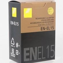 EN EL15 ENEL15 EN EL15 بطارية بطاريات حزمة لكاميرا نيكون D600 D610 D600E D800 D800E D810 D7000 7100 d750
