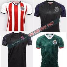 00c8c91a 17 18 Mexico's Club Soccer Jersey Chivas Guadalajara 2018 camisetas de  futbol O.BRAVO REYNA football Shirts
