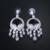 Loway gran venta caliente ronda pendientes collar mujeres cubic zirconia de boda joyería nupcial conjunto xl1885