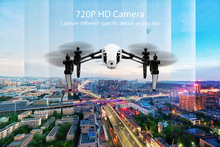 Q333 Genuine Deformation Drone With HD Camera 2.4G 4CH 6-Axis Gyro Automatic Return Headless Mode Remote Control Helicopter