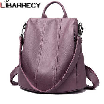 Fashion Simple Backpack Female Waterproof Backpacks for Women Large Capacity School Bags for Girls Brand Anti-theft Travel Bag - DISCOUNT ITEM  48% OFF All Category