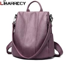 Mochila sencilla de moda impermeable para mujer, mochilas de gran capacidad, mochilas de escuela para niñas, bolso de viaje antirrobo