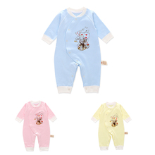 Autumn Baby Rompers Christmas Baby Boy Clothes Newborn Clothing Cotton Baby Girl Clothes Roupas Bebe Infant Baby Jumpsuits недорого