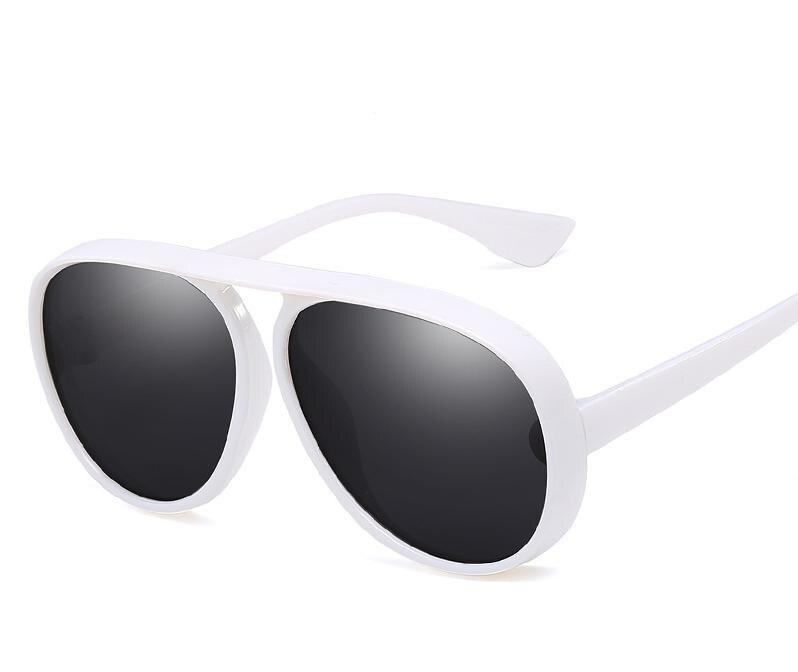 Retro Pilot Sun Glasses For Women Brand Designer Sunglasses Cool Female Lady Gift