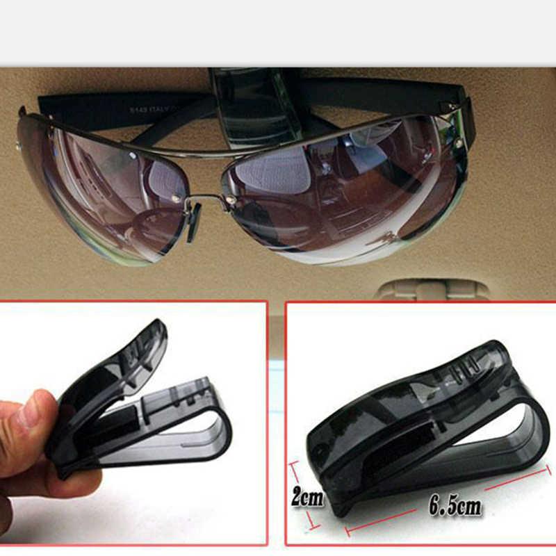 Auto zapięcia karty bilet okulary klip dla mercedes mazda 3 renault golfowe toyota 4 opel passat b5 golf 7 dla skoda ford focus 3