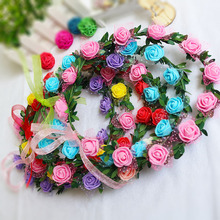 Well Made Flower Garland Bridal Necklace Hawaii Beach Wedding Party Supplies Decorations Wholesale DROP SHIPPING OK