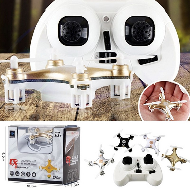 RC Helicopter Cheerson CX-10A RC Quadcopter 4CH 2.4GHz Headless Drone Mode vs CX-10A five