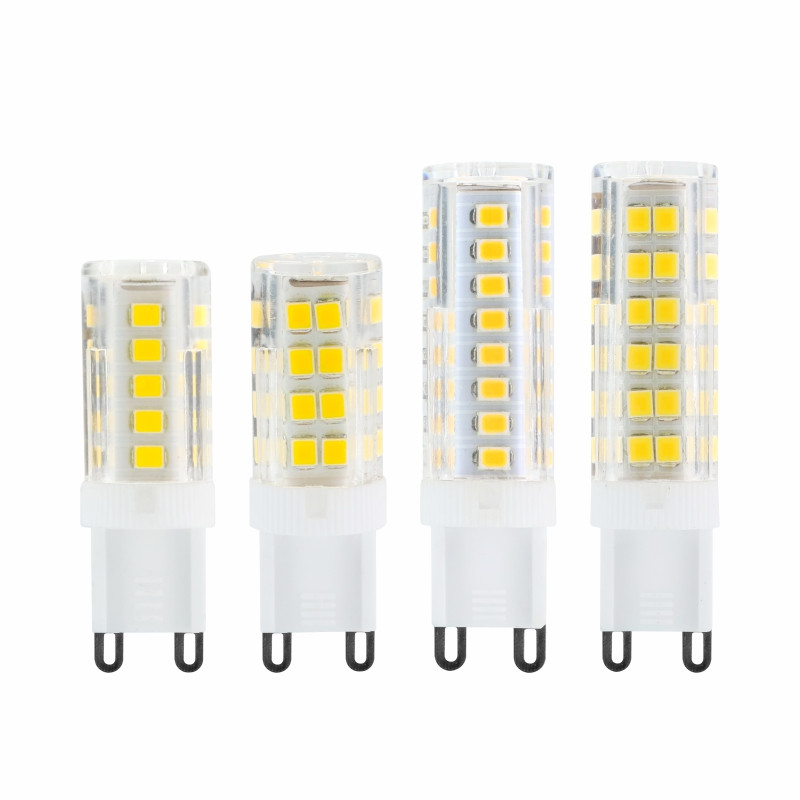 G9 LED Light 3W 4W 5W 7W AC220V 2835SMD Light Bulb Replace 30 40 50 70W Halogen Lamp For Chandelier