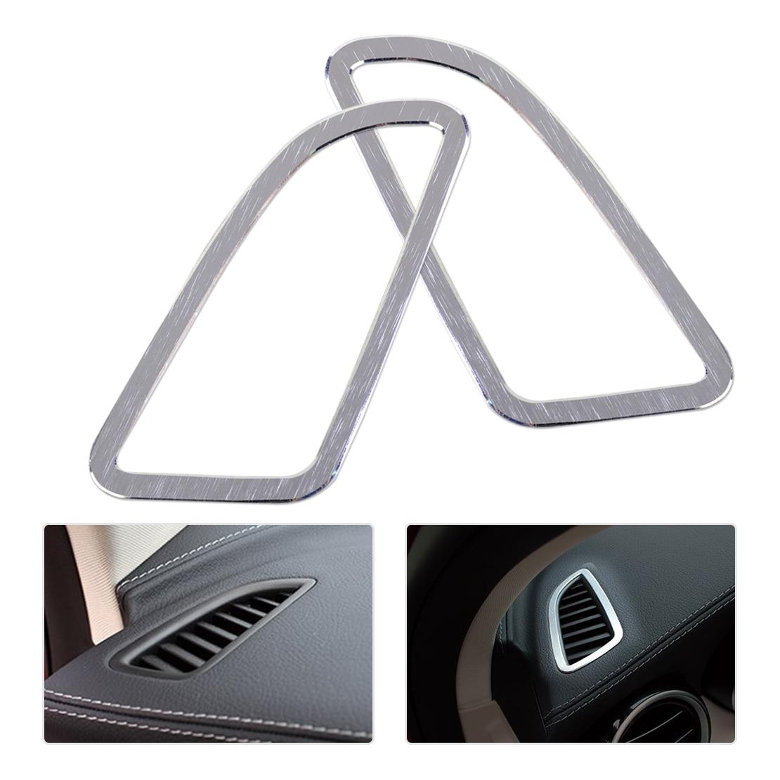 Beler Tableau de Bord Air Condition Vent Couvercle De Sortie Garniture Cadre pour Mercedes Benz Classe C W205 C180 C200 C250 C300 C400 C63 2014-2015